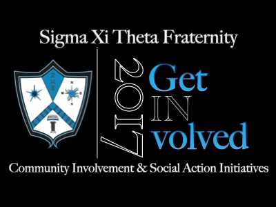 Join Sigma Xi Theta's Get Involved Campaign.